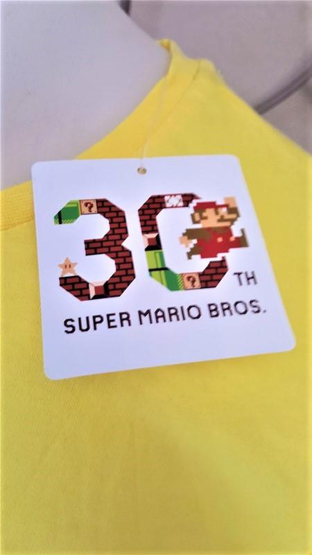 T shirt mario 30 ans