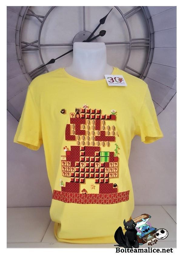 T shirt mario