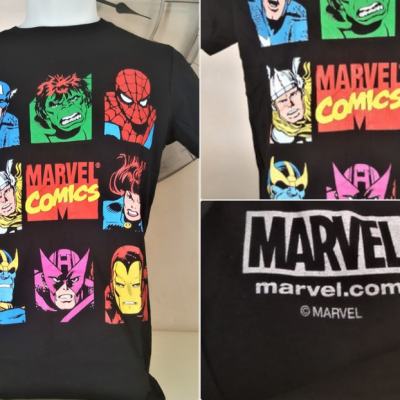 T shirt marvel comics