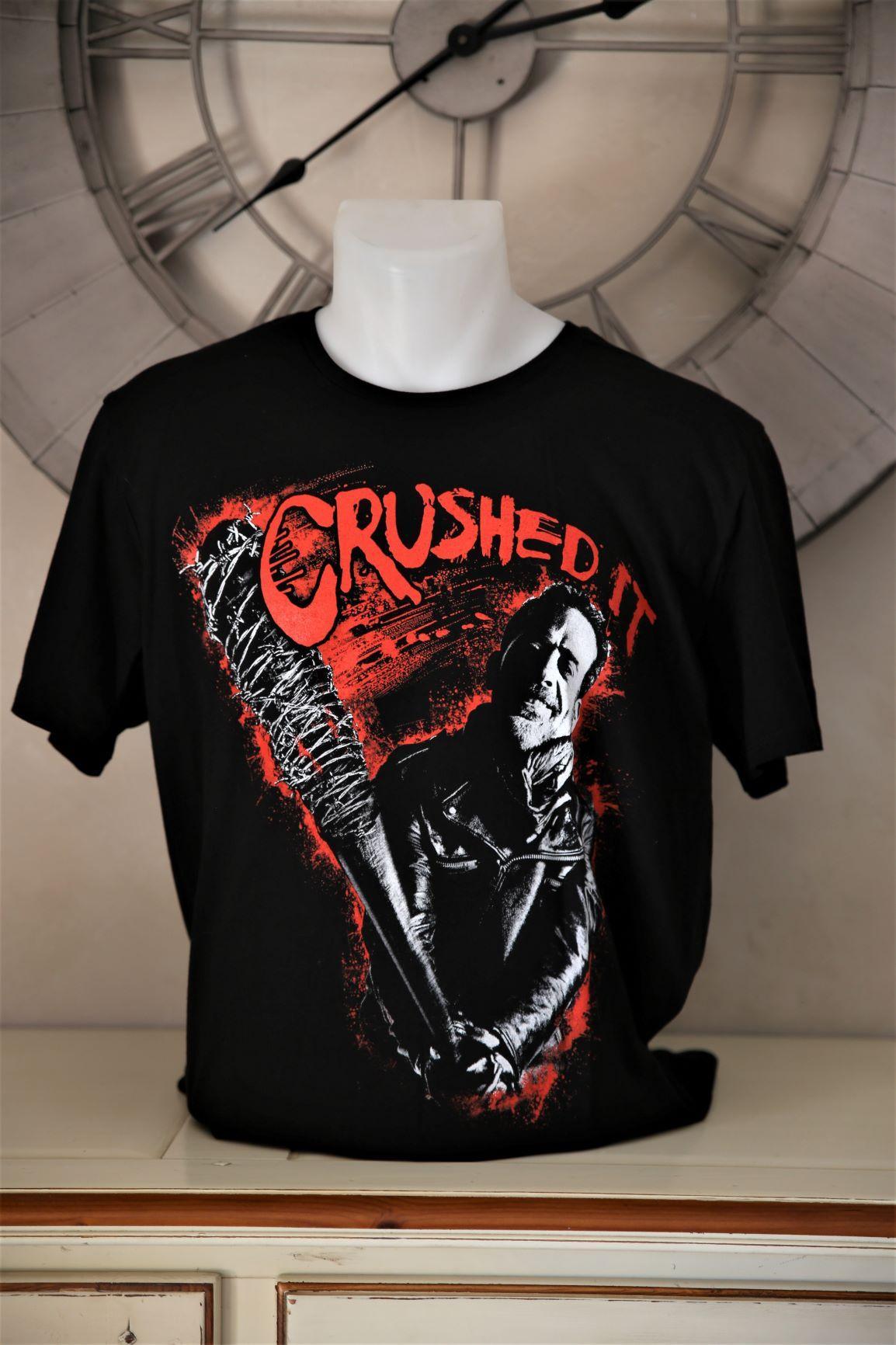 T shirt negan walking dead 1