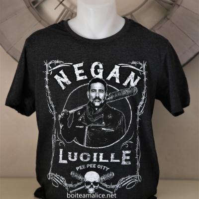 T shirt negan walking dead
