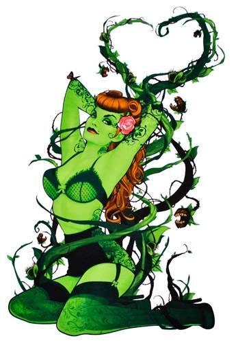 T shirt poison ivy batman dc comics