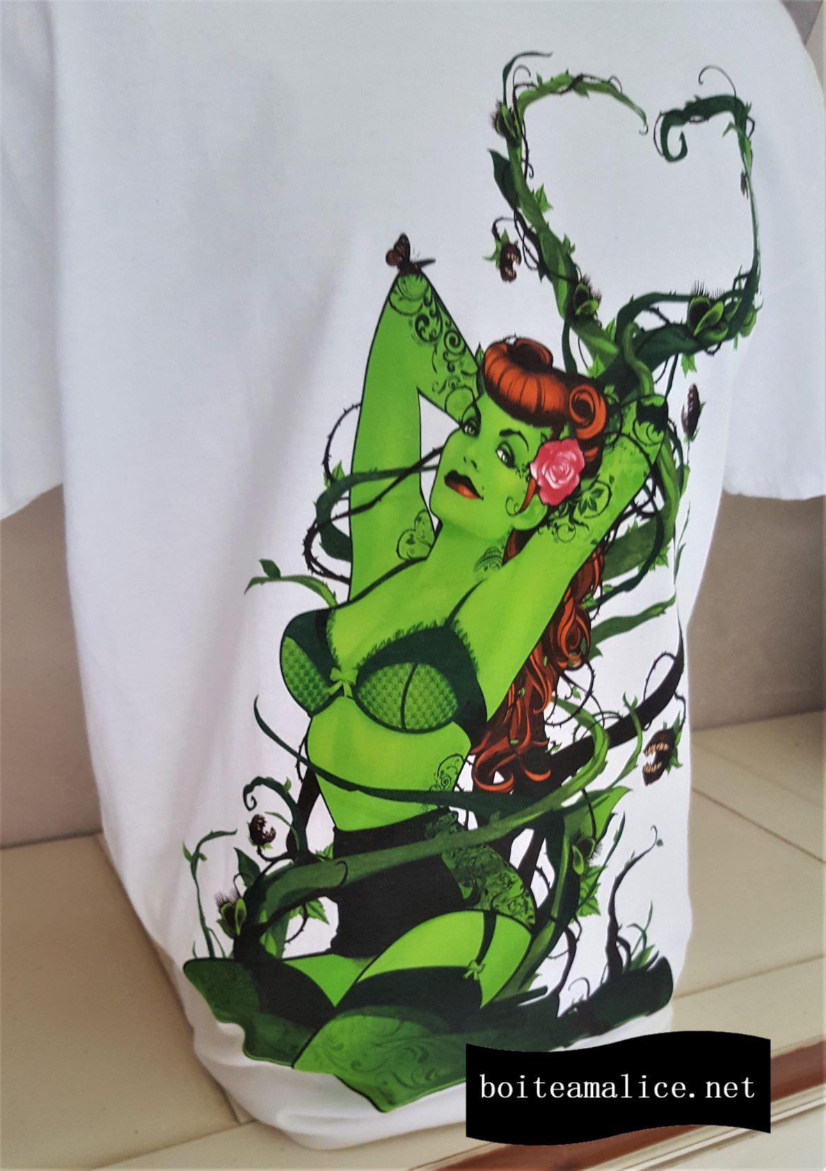 T shirt poison ivy dc
