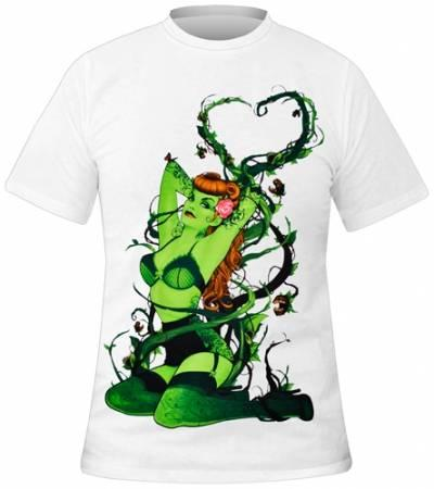 T shirt poison ivy homme