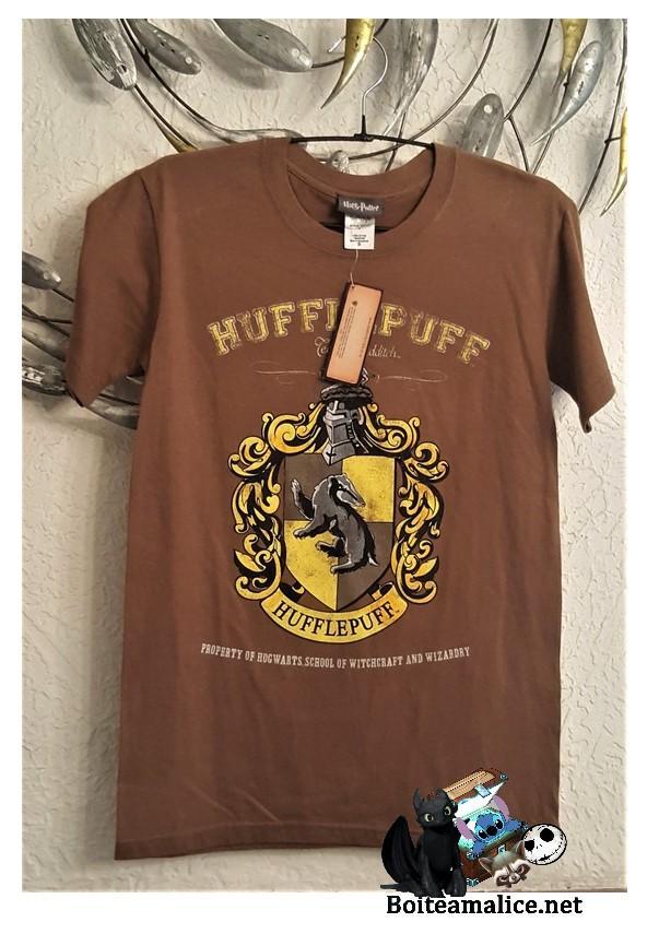 T shirt poufsouffle harry potter 1