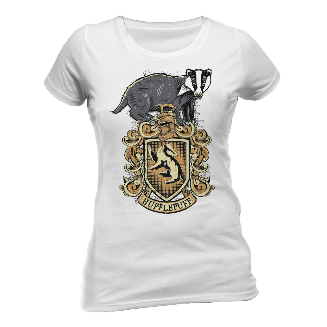 T shirt poufsouffle harry potter femme
