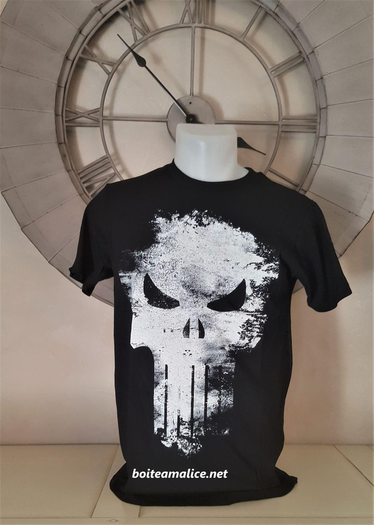 T shirt punisher homme 1