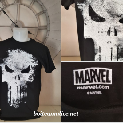 T shirt punisher skull marvel