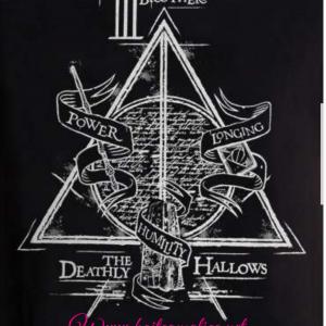 T shirt relique de la mort harry potter