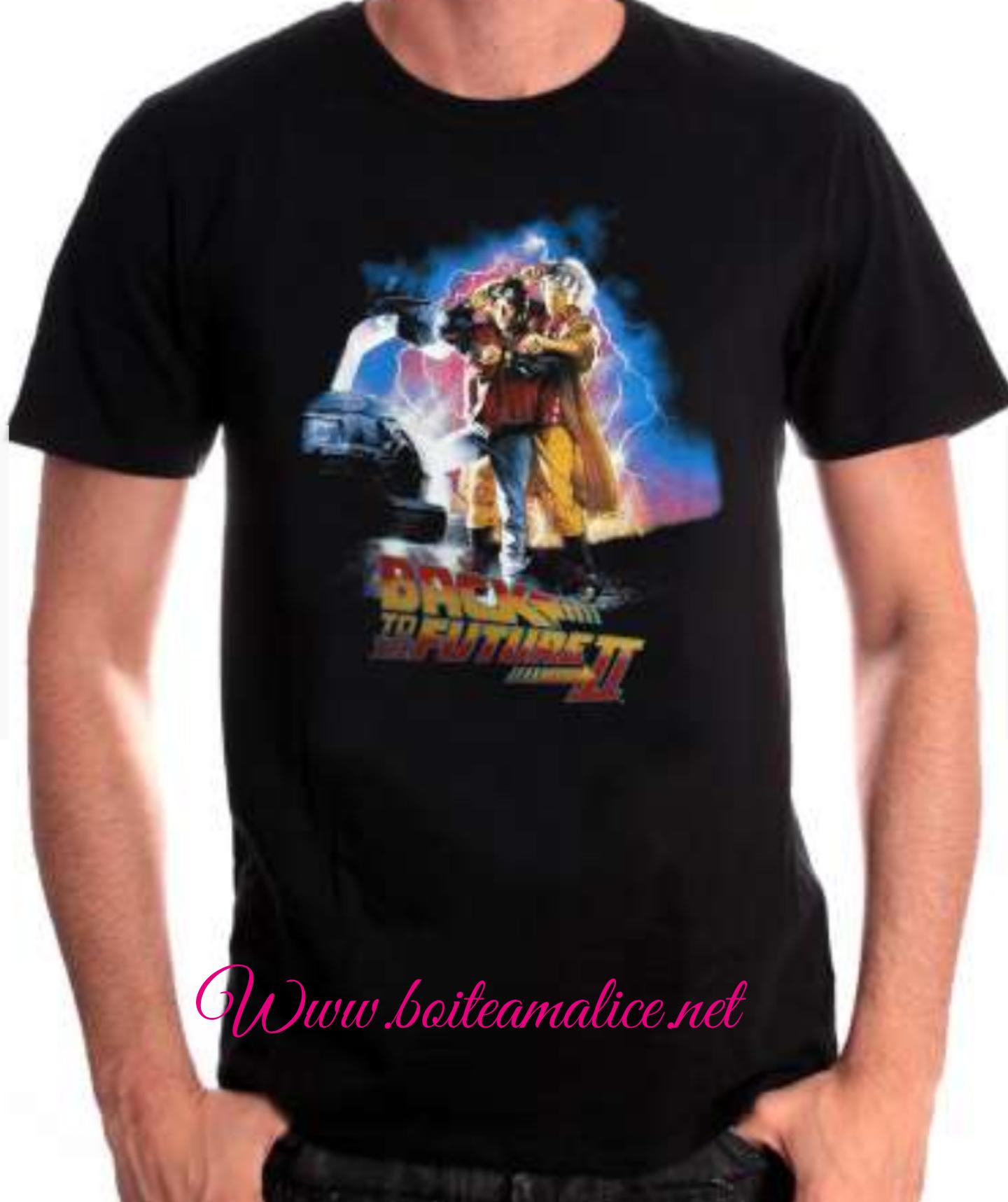 T shirt retour vers le futur 2