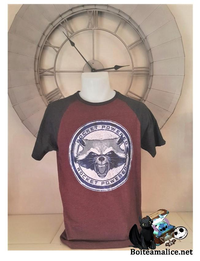 T shirt rocket marvel