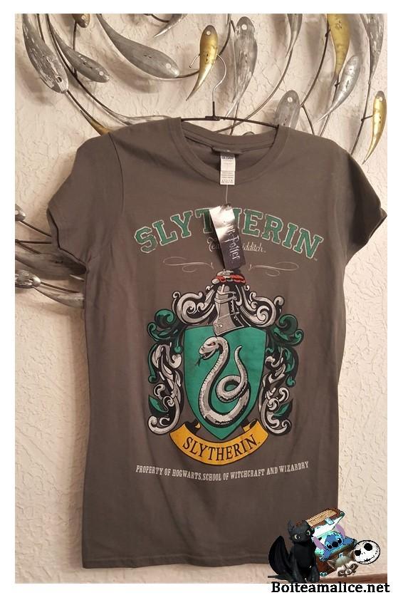 T shirt serpentard femme 1