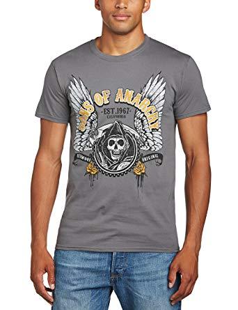 T shirt soa gris