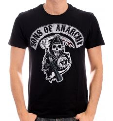 T shirt sons of anarchy death reapper