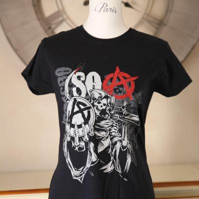 T shirt sons of anarchy femme