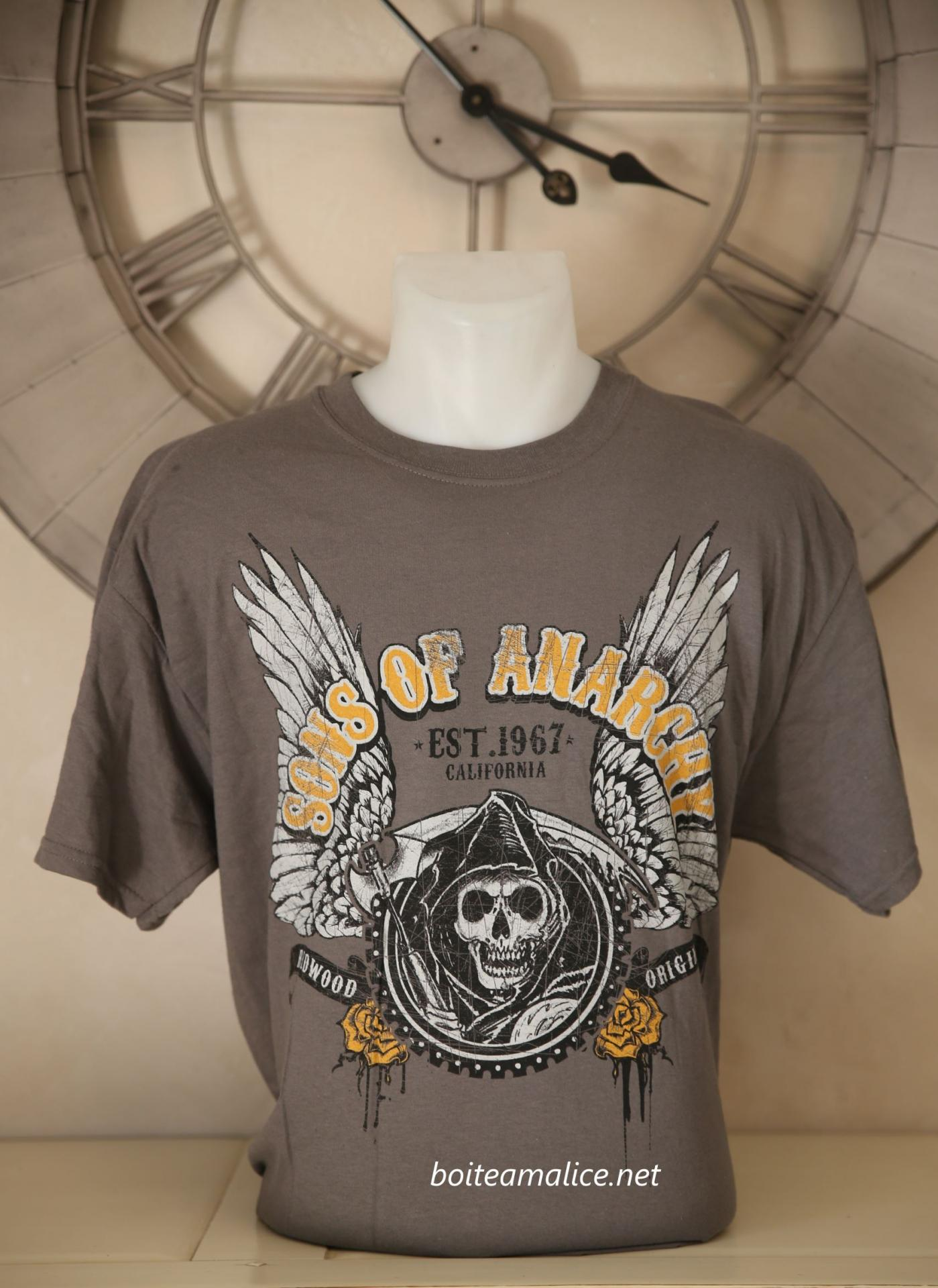 T shirt sons of anarchy homme 1