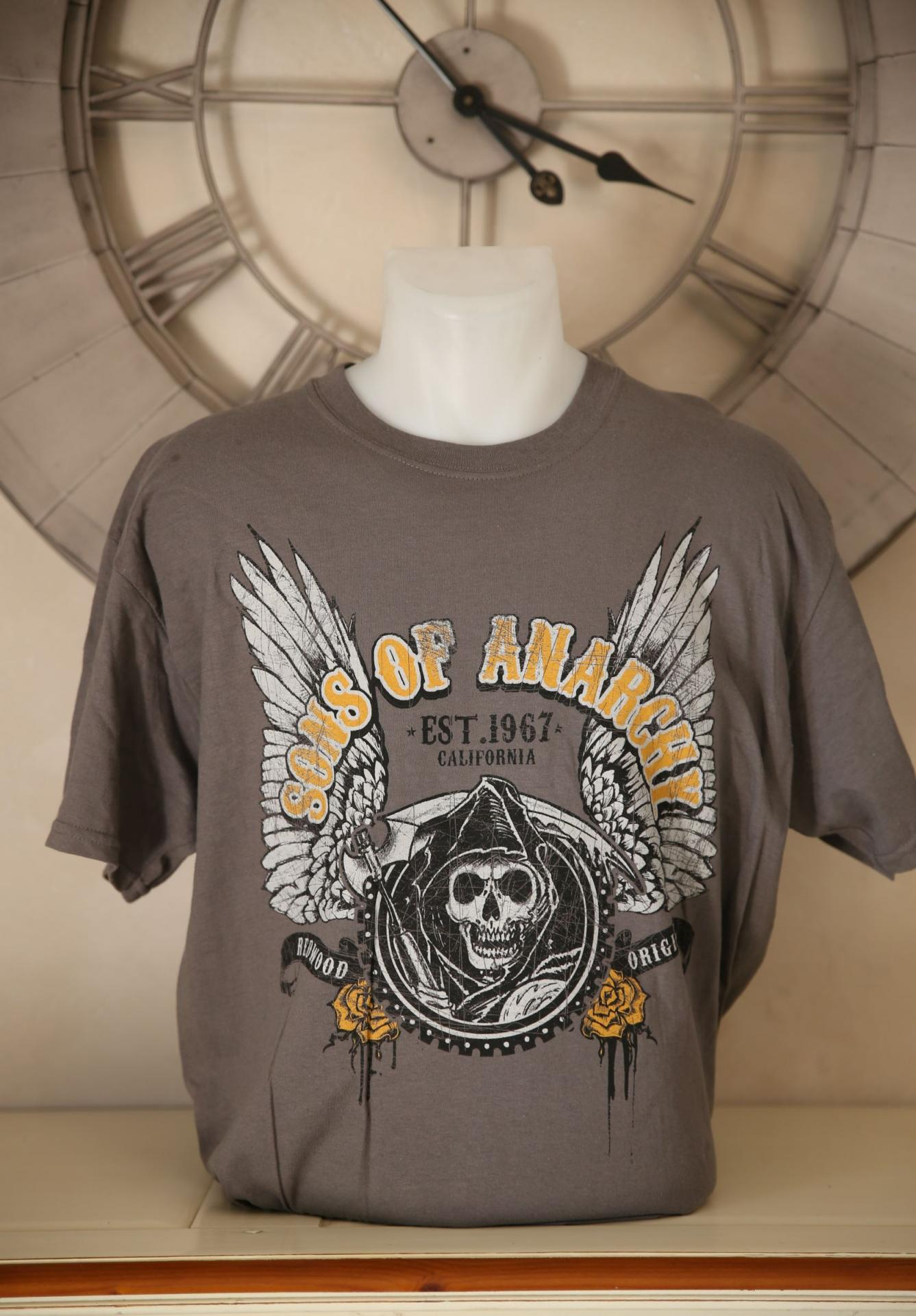 T shirt sons of anarchy homme l