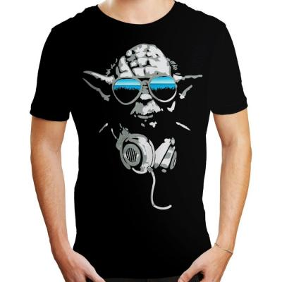 T shirt star wars dj yoda 1