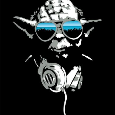 T shirt star wars dj yoda 2