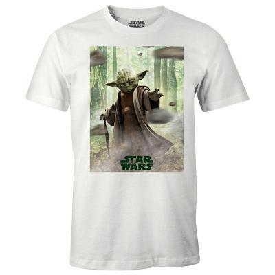 T shirt star wars yoda master