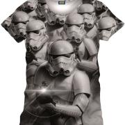 T shirt stormtroopers commando star wars