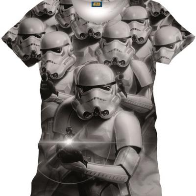 T shirt stormtroopers commando star wars