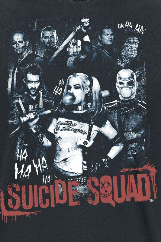 T shirt suicide squad harley quinn 2