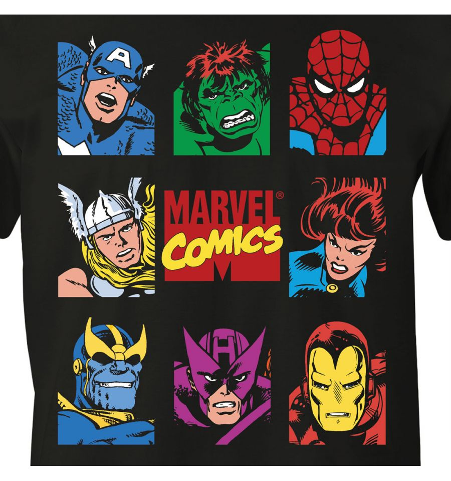 T shirt the avengers marvel marvel comics