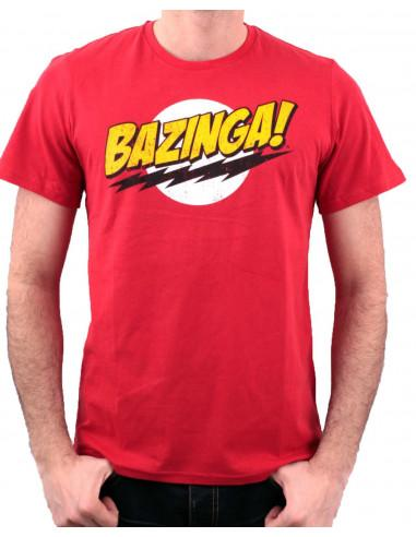 T shirt the big bang theory bazinga