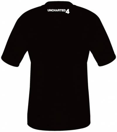T shirt uncharted homme jeux video