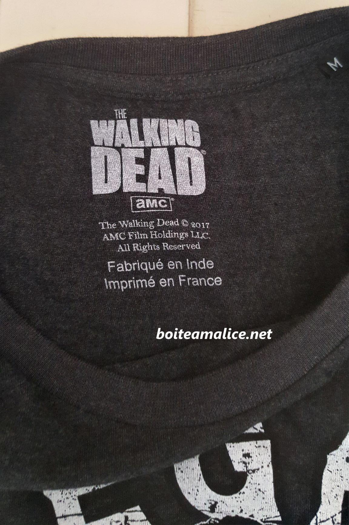 T shirt walking dead negan 1