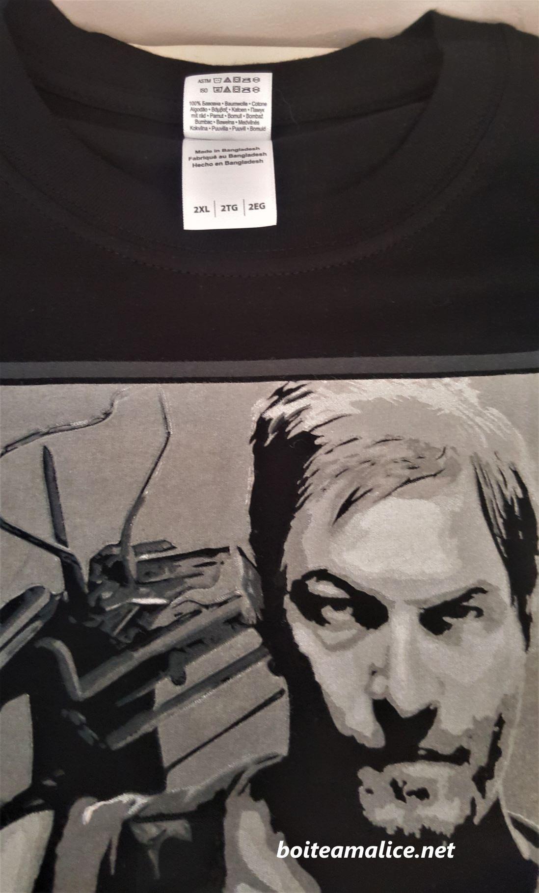 T shirt walking dead xxl