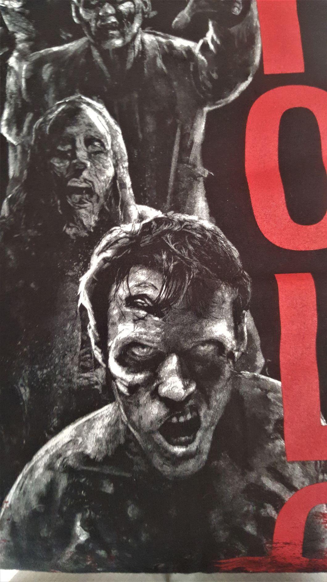 T shirt walking dead zombie