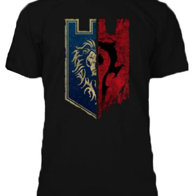 T shirt warcraft homme