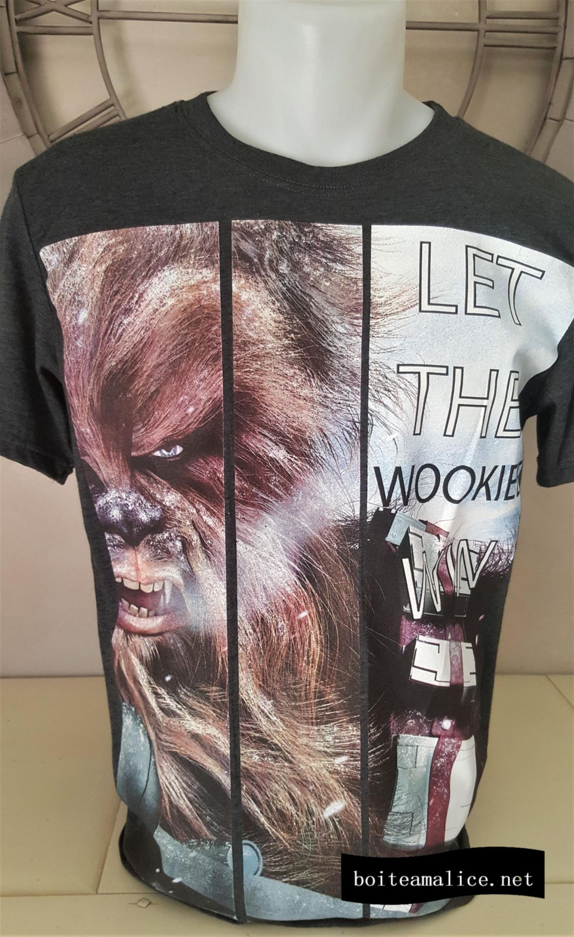 T shirt wookie chewbacca