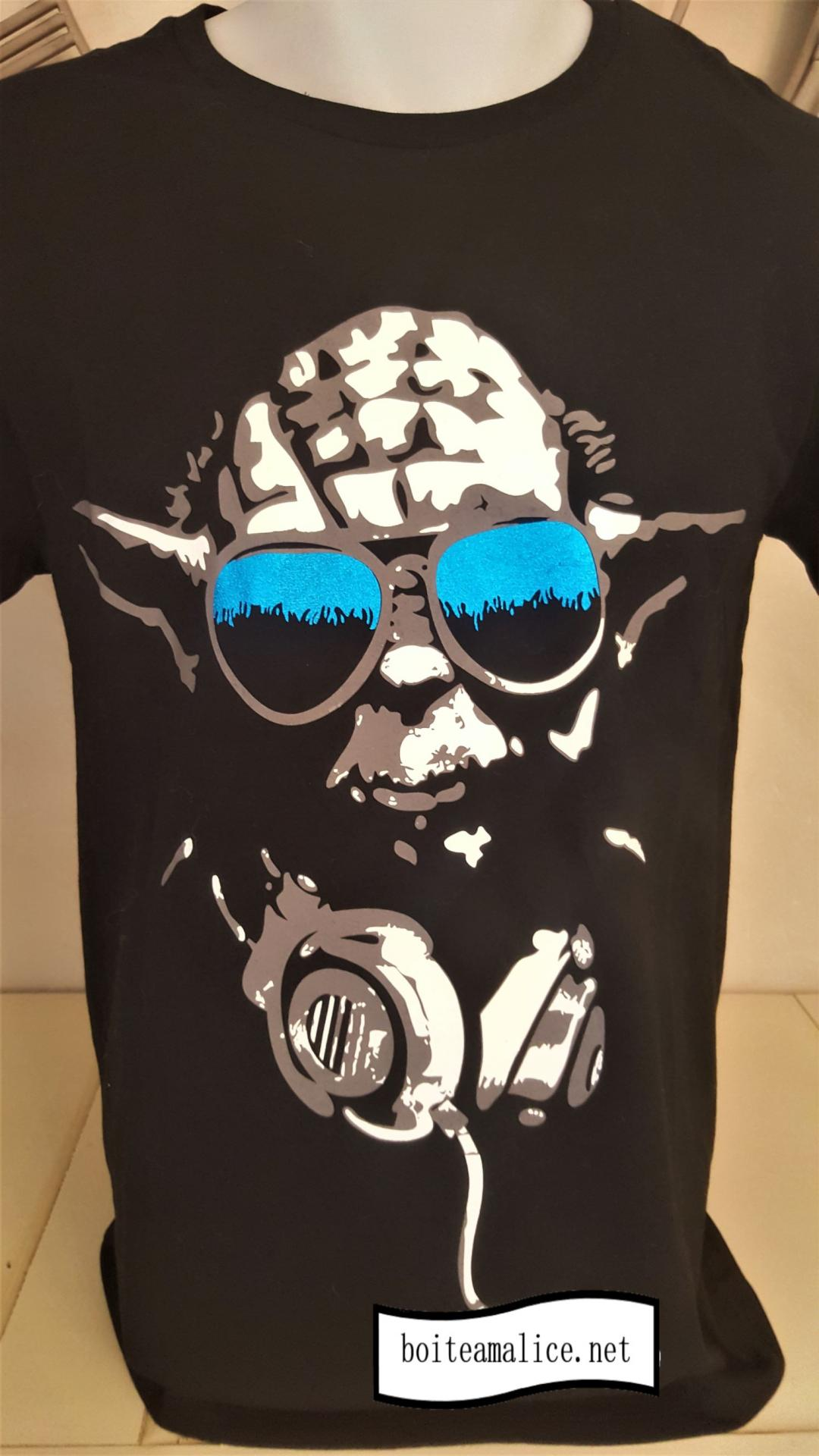 T shirt yoda dj star wars