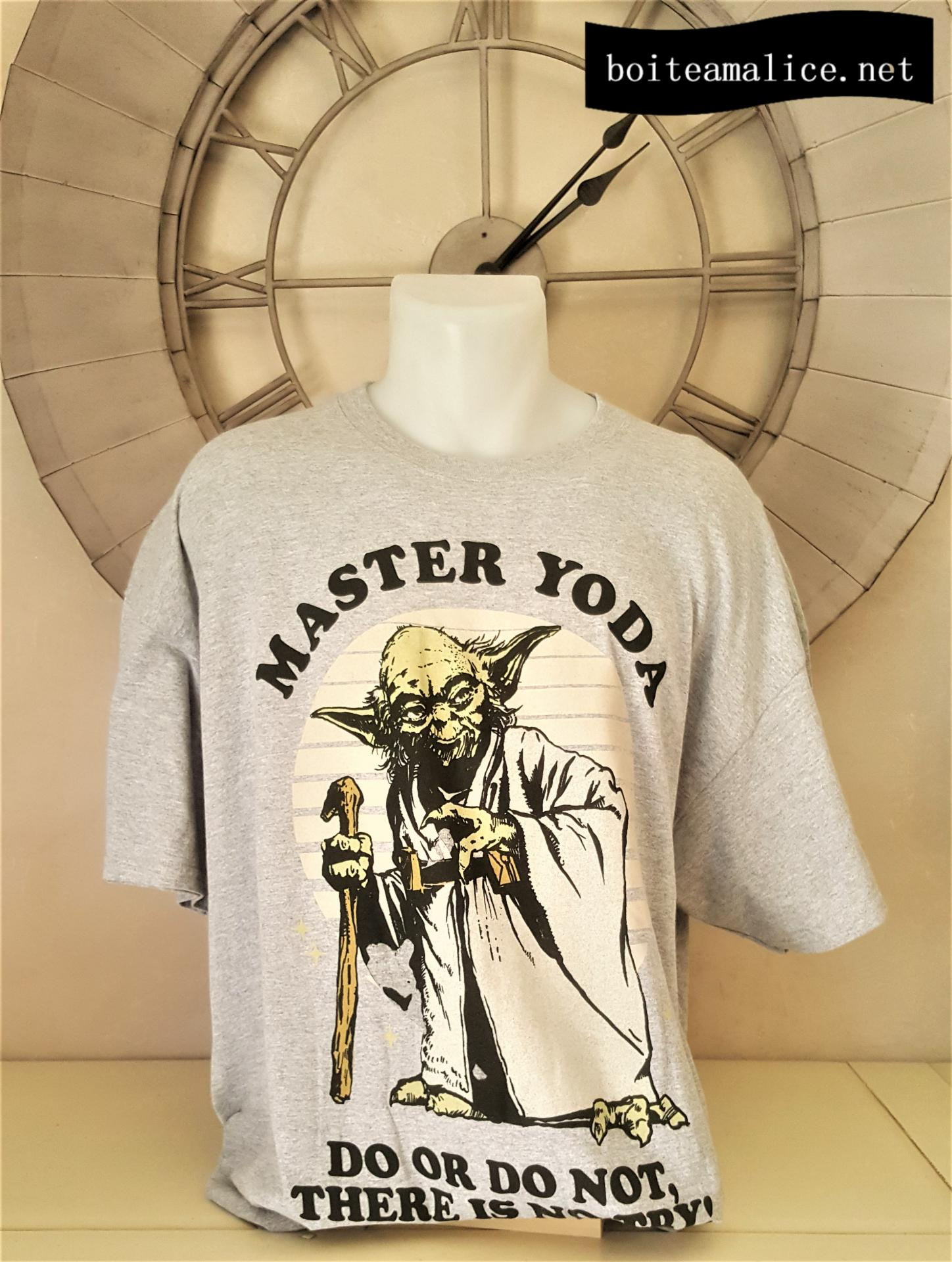 T shirt yoda star wars xxl