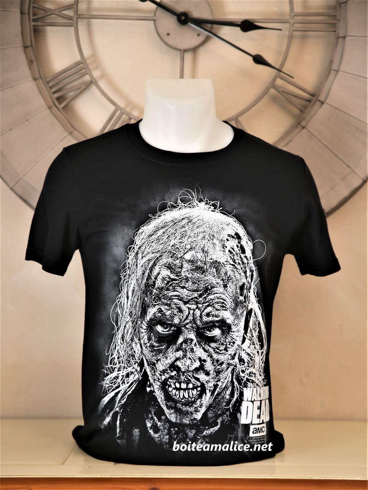 T shirt zombie walking dead