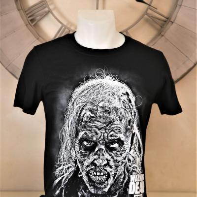 T shirt zombie walking dead