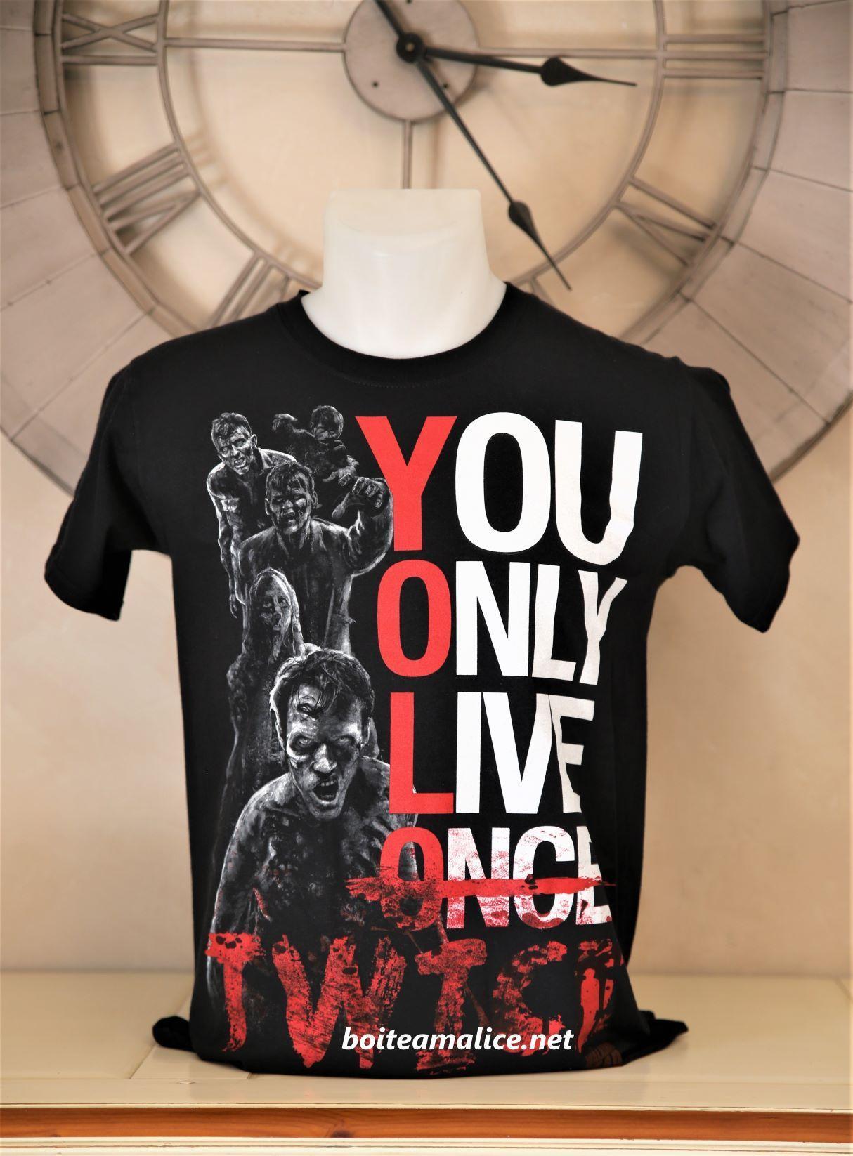 T shirt zombies walking dead
