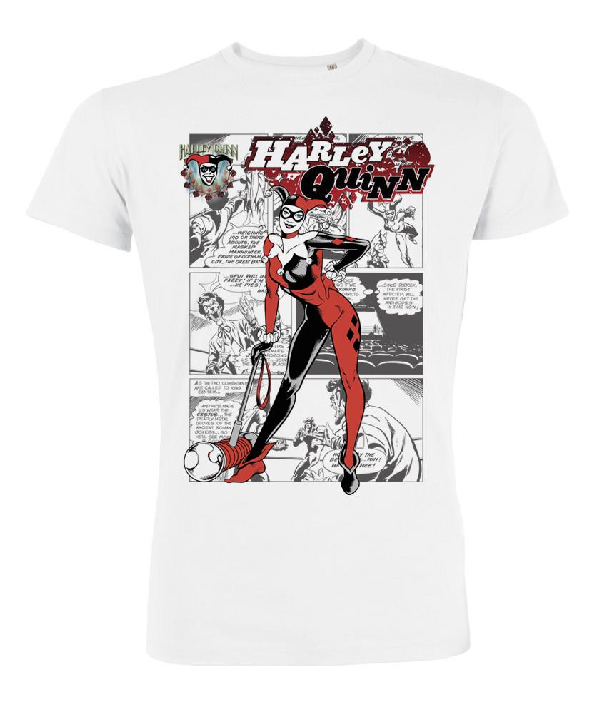 Tshirt dc comics harley quinn