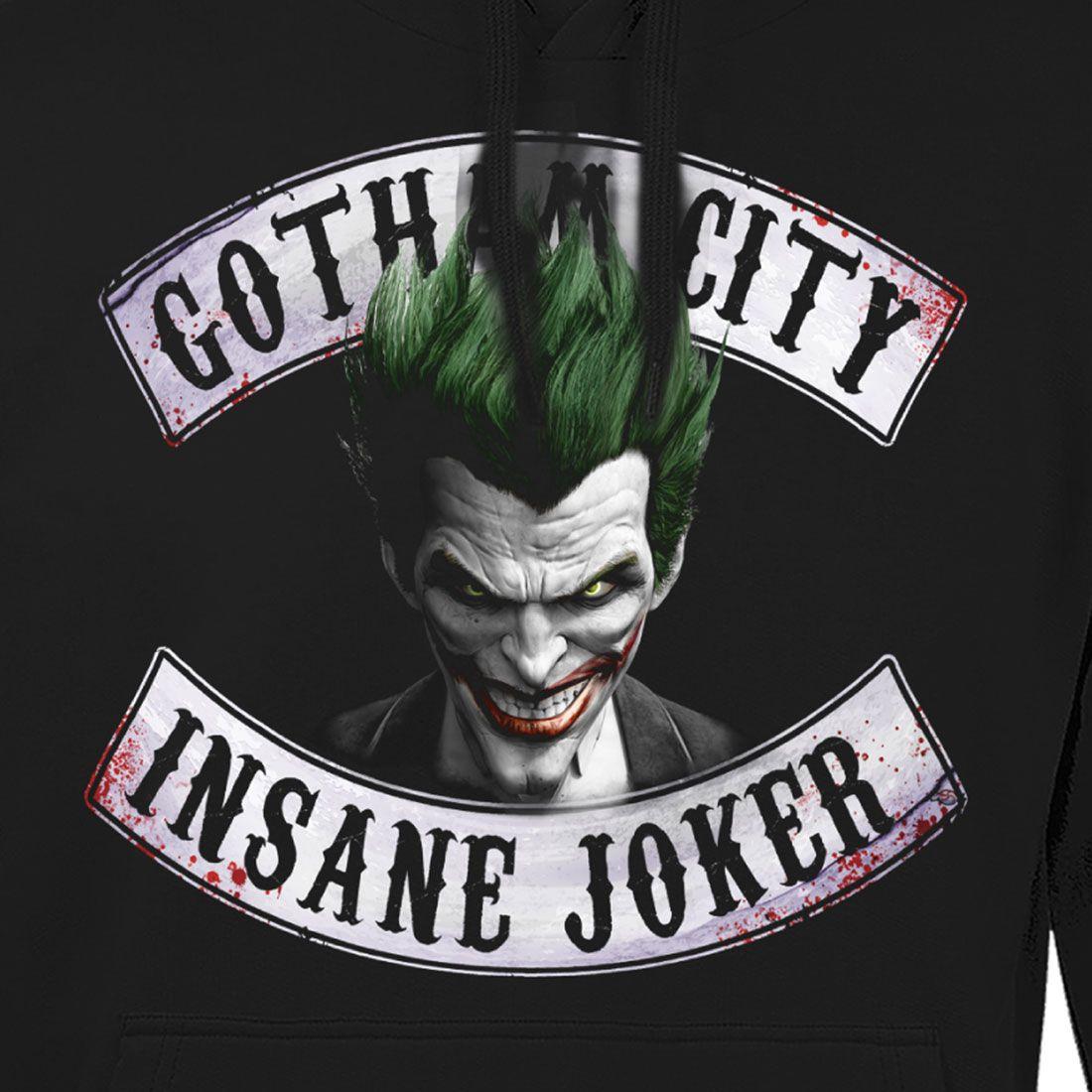 Tshirt gotham city insane joker