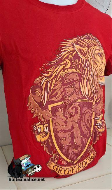 Tshirt harry potter gryffondor