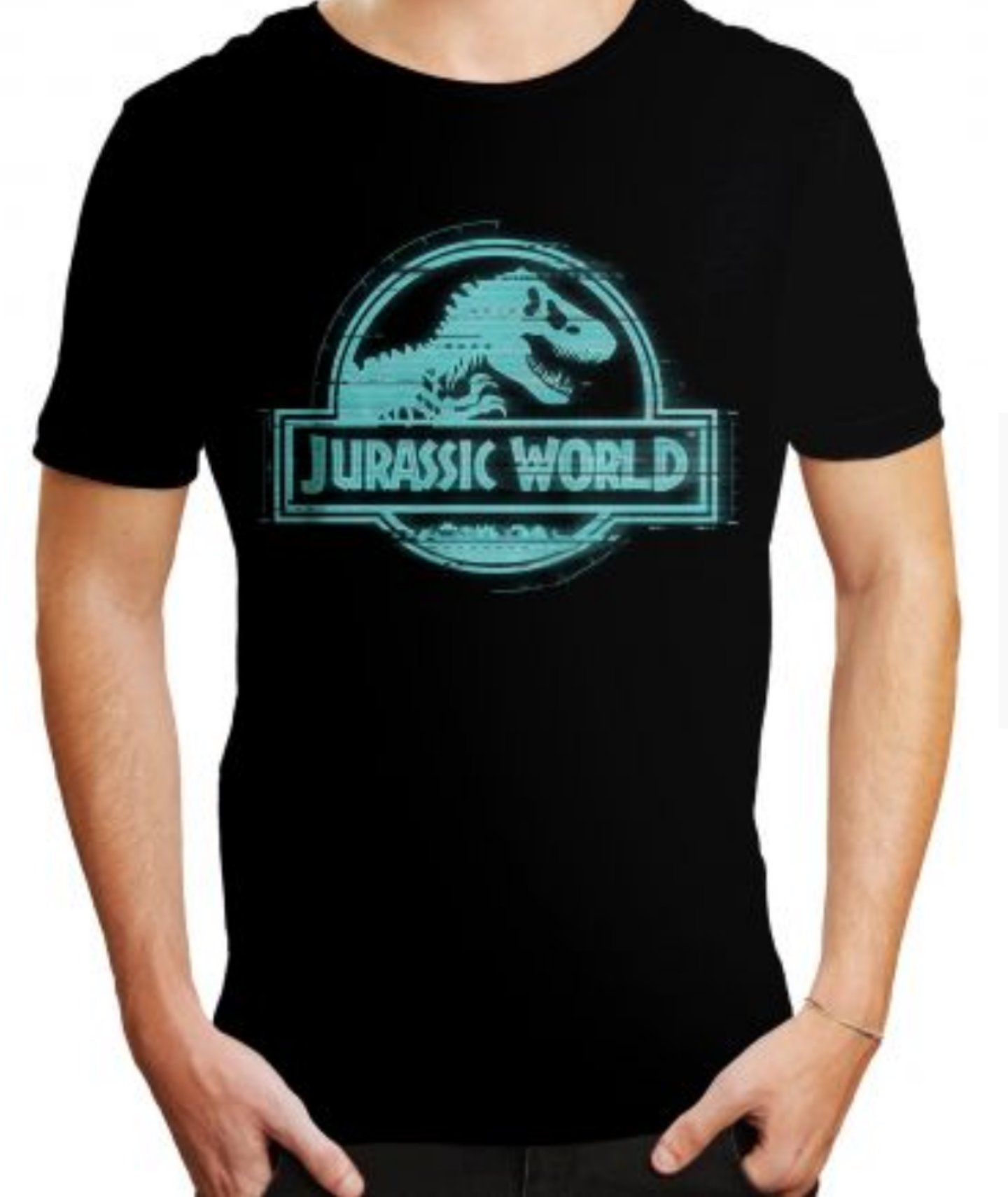 Tshirt jurassic world logo