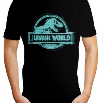 Tshirt jurassic world logo