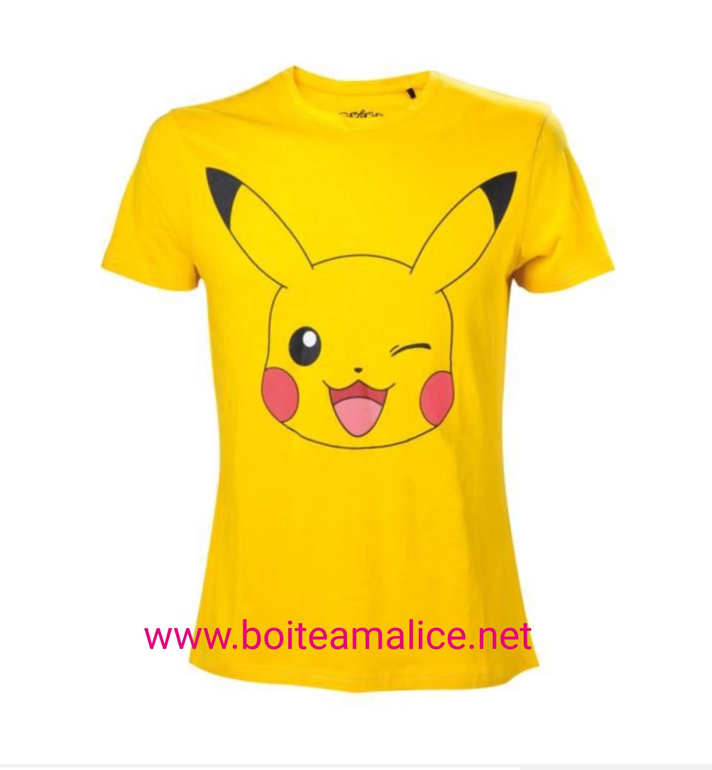 Tshirt pikachu