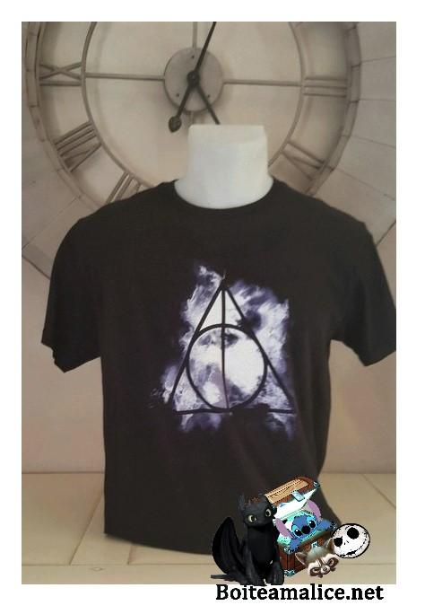 Tshirt relique de la mort harry potter