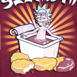 Tshirt rick et morty skechuan 1