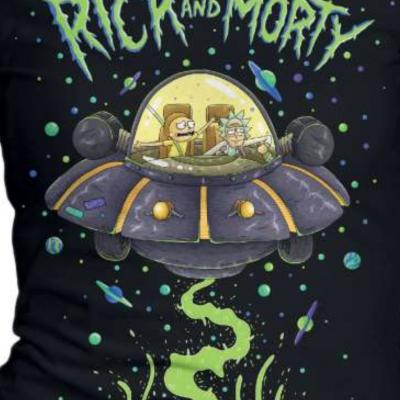 Tshirt rick et morty