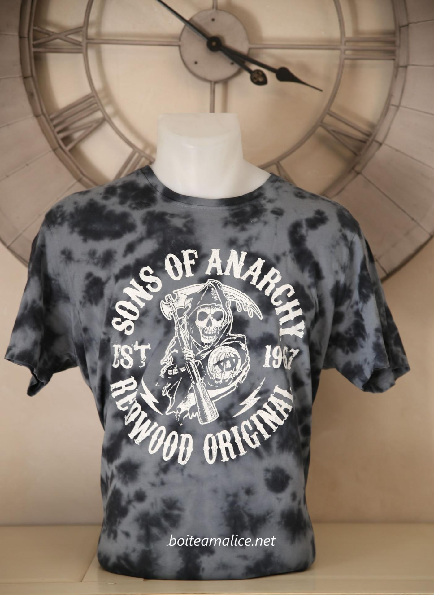 Tshirt sons of anarchy homme